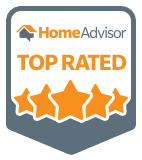 HomeAdvisor's Top Rated Logo